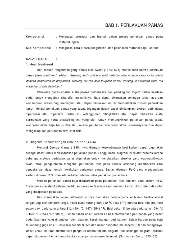 Bab 1 proses perlakuan panas proses perlakuan panas ccuart Choice Image