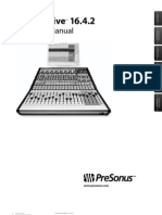 Presonus Studio Live Manual