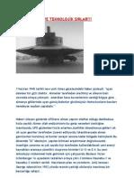 Nazi Ufolari Ve Teknolojik Sirlar