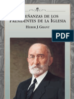 ENSEÑANZAS DE LOS PRESIDENTES DE LA IGLESIA - HEBER J. GRANT
