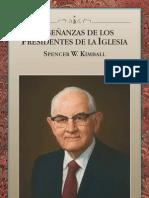 ENSEÑANZAS DE LOS PRESIDENTES DE LA IGLESIA - SPENCER W. KIMBALL