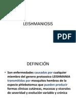 Leishmaniosis Por Dg