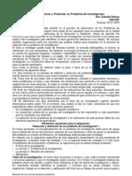 Cómo Seleccionar y Presentar su Problema de Investigación. Ramos, 2003