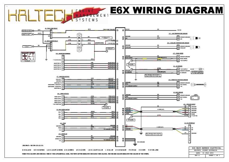 Haltech E6x Wiring Diagram | Wiring Diagram on