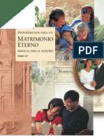 PREPARÉMONOS PARA UN MATRIMONIO ETERNO - Manual Para El Maestro de Instituto
