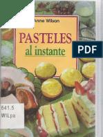 Anne Wilson - Pasteles Al Instante