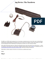 FBI Vehicle-Tracking Device -- The Teardown