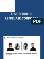 Test Sobre El Lenguaje Corporal