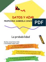 Presentacion 6to a Datos y Azar