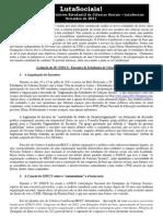 Boletim LutaSociais-Avaliação do 26º ENECS
