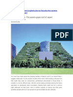 Fukuoka_serene Green Roof of Japan
