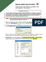 Instrucciones Para Hacer Matricula Actualizadas El 1-Nov-11 Sin Pantalla 1pl