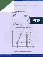 PVT Diagram Rankine Cycle