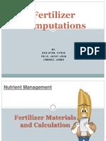Fertilizer Computations Updated