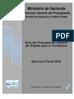 Gua Del Presupuesto 2010