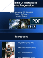 Mechanisms Of Therapeutic Exercise Progression - TPTA Annual Conference 2011