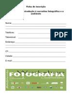 Ficha de Inscrição 2007