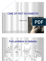 Care of Feet in Diabetes