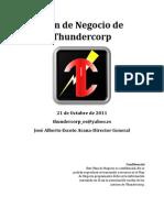 Plan de Negocio- Thunder Corp
