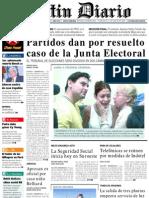 Primera Plana Listin Diario 01-11-2001