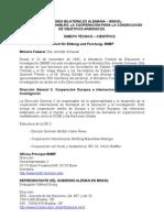 COOPERACIÓN TÉCNICA-CIENTÍFICA ENTRE ALEMANIA Y BRASIL 2011