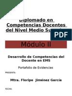 PORTAFOLIO DE EVIDENCIAS DEL MODULO II PROFORDMES 5TA GENERACION