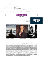 3. El romanticismo en Europa y Latinoamérica. Yépez 2011