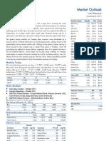 Market Outlook 2nd November 2011