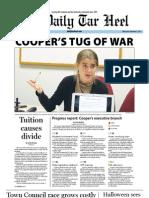 The Daily Tar Heel for November 2, 2011