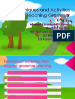 Techniques and Activities for Teaching Grammar