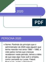 Persona 2020