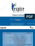 ESPIRE OM FMT G116 Training Template