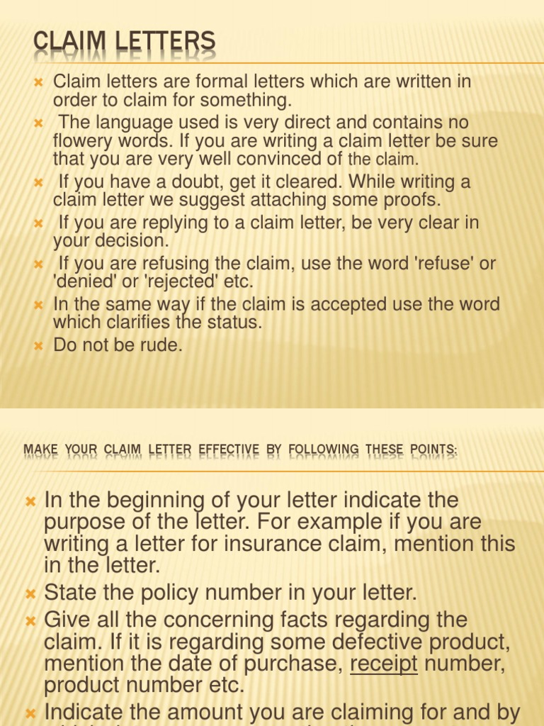 What Is Claim Letter from imgv2-1-f.scribdassets.com