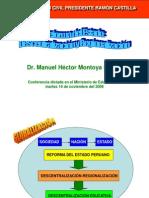 Reforma Del Estado Manuel Montoya