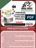 Variables fundamentales para seguir el proceso electoral, Roy Campos.