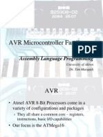 Avr Micro Controller Family Assembly Language Programming 337