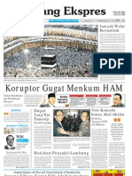Koran Padang Ekspres | Rabu, 2 November 2011