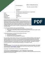 MKT 370 Marketing Policies WILLIAMS
