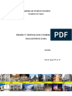 Filehost_Proiect Tehnologii Comerciale - Magazinele Zara
