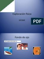 Exploración física de pares craneales