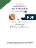 Masah Over Regular Socks