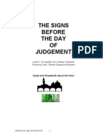 The Signs Before the Day of Judgement From the Quran and the Hadith