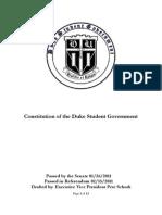 DSG Constitution
