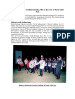 Report on World AIDS Day