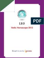Leo Horoscope 2012