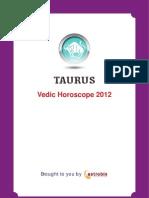 Taurus Horoscope 2012