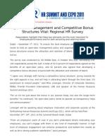 Open-Door Management and Competitive Bonus Structures Vital