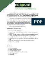 Penawaran Virtual Private Server IIX (Indonesia)