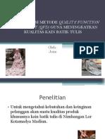 presentasi QFD