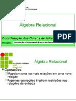 03 Algebra Relacional